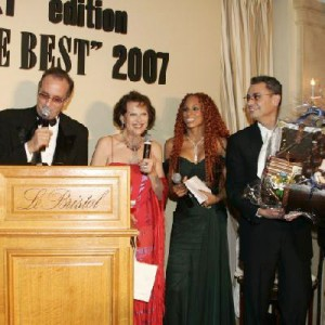 Yves Lecoq, Mya Frie, C Cardinale, The Best au Ritz…