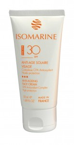 SOLAIRE ANTI-AGE SOLAIRE VISAGE © Isomarine by AKEO