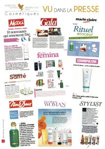 POSTER FOREVER COSMETIQUES 2015