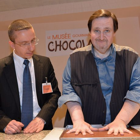Le Chef Philippe Conticini Wall of Fame Choco Story