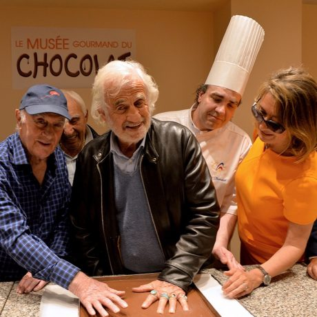 Jean-Paul Belmondo et Rémy Julienne Wall of Fame Choco Story