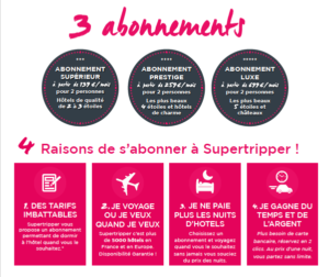 Supertripper abonnements
