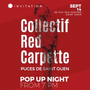 INVITATION RED CARPETTE 14 SEPT PUCES DE ST OUEN