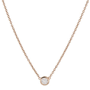 The Wishing Necklace - Rose Gold