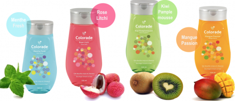 Gels douche Colorade