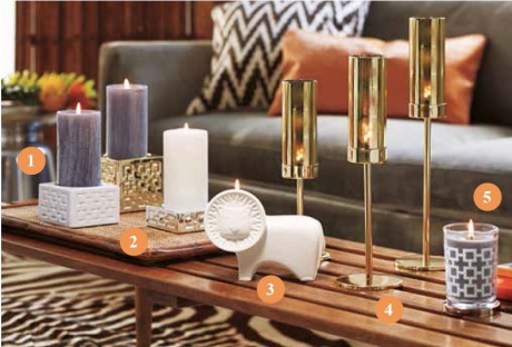 Collection Safari Jonathan Adler for PartyLite ©PartyLite