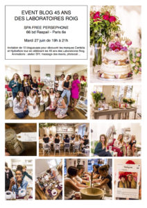 CENTELLA EVENT BLOGUEUSES 45 ANS